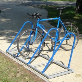 STANDARD jednostranný zamykatelný stojan na kola