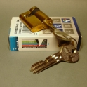 Zámek FAB 201 RSD se zákaznickým profilem klíče