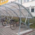 Přístřešek s obloukovou střechou - základní modul