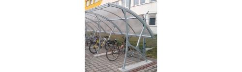 Přístřešek s obloukovou střechou